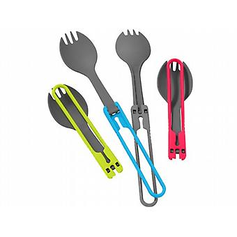MSR Folding Spork Utensil Set (4-teilig)