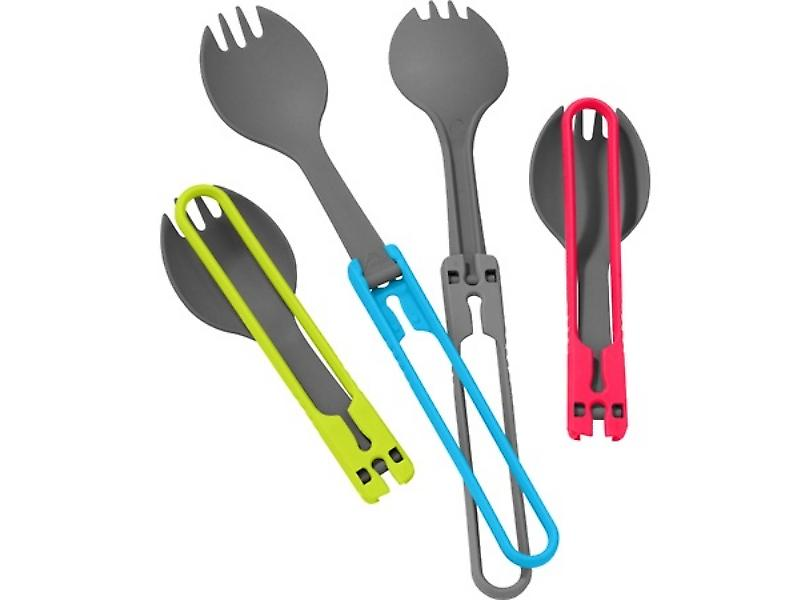 MSR Folding Spork Servies Set (4pc)
