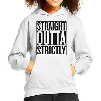 Straight Outta Strictly Come Dancing Kids Hooded Sweatshirt