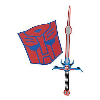 Disfraz de Optimus Prime set de espada y escudo para niños