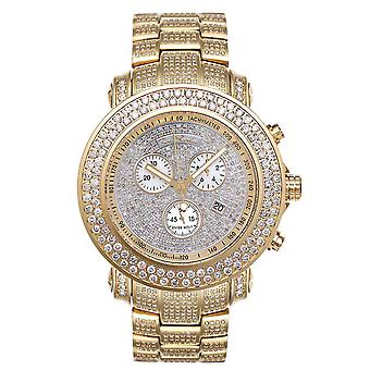 Joe Rodeo Diamant Herren Uhr - JUNIOR gold 19.25 ctw