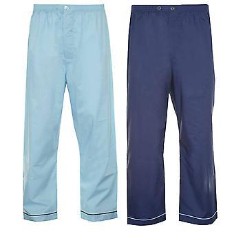 Champion Mens Pyjama Trouser Bottoms PolyCotton (Pack of 2)