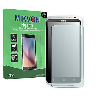 HTC Evita Screen Protector - Mikvon Health (Retail Package with accessories) (intentionally smaller than the display due to its curved surface)