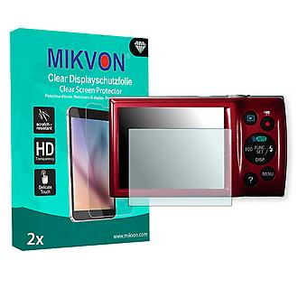 Canon PowerShot ELPH 135 Screen Protector - Mikvon Clear (Retail Package with accessories)
