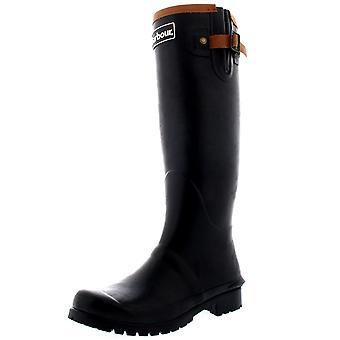 Womens Barbour Blyth Winter Rubber Wellingtons Black Waterproof Boots