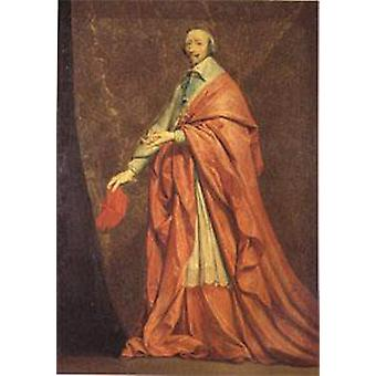 Кардинал Ришелье, Филипп де шампанского, 40x60cm с лотка