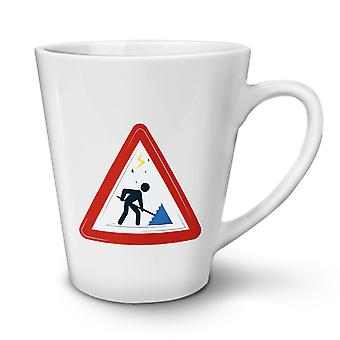 Traffic Sign Umbrella NEW White Tea Coffee Ceramic Latte Mug 17 oz | Wellcoda