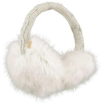 Barts Fur Earmuffs - White