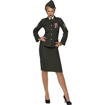 Vestito di wartime ufficiale Costume, UK 12-14