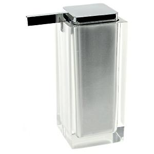 Rainbow Large Soap Dispenser Silver RA80 73