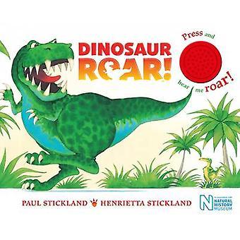 恐竜咆哮!ヘンリエッタ枝スティックランド - ポールでシングル サウンド ボード ・ ブック
