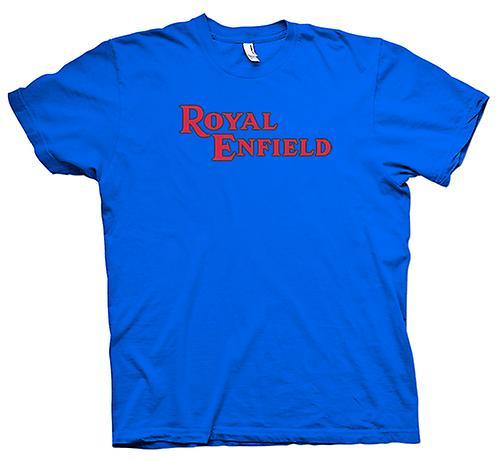 Hommes T-shirt - Royal Enfield Logo - Moto Classique