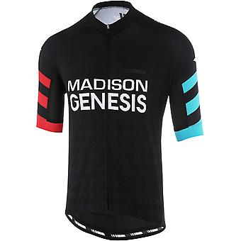 Madison Madison Genesis Team 2018 Sportive Short Sleeved Cycling Jersey