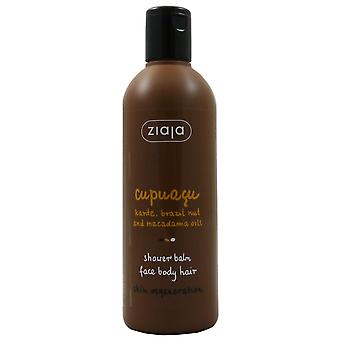 Ziaja Cupuaçu 3-in-1 shower balm for body, face and hair 300 ml