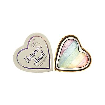 Makeup Revolution-Unicorns Heart Highlighter