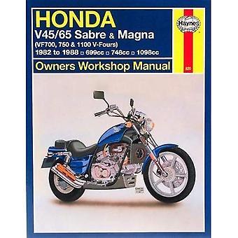 Honda V45/65 Sabre et Magna (VF700, 750 et 1100 V-Fours) atelier manuel (manuels d'atelier Haynes propriétaires)