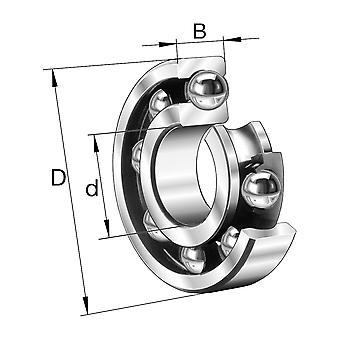 NSK 6303 Open Type Deep Groove Ball Bearing 17X47X14Mm