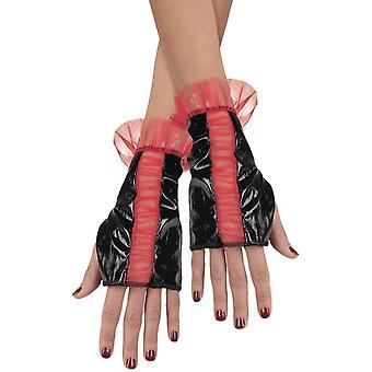 Glovettes Rd Bk Ruched Adult