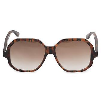 Saint Laurent Square Sunglasses SL132 003 56