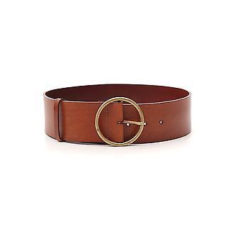 Philosophy By Lorenzo Serafini Brown Leather Belt
