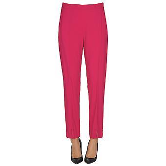 Pinko Fuchsia Viscose Pants