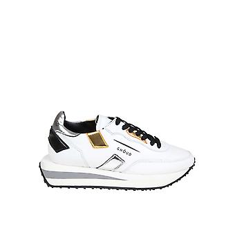 Ghoud White Leather Sneakers