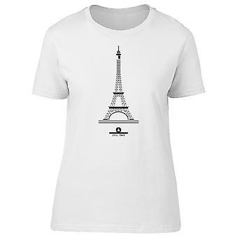 Minimale Eiffeltoren Tee mannen-beeld door Shutterstock
