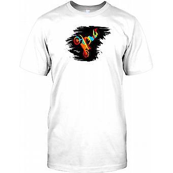 Motocross Stunt  Rider - Freestyle  Kids T Shirt