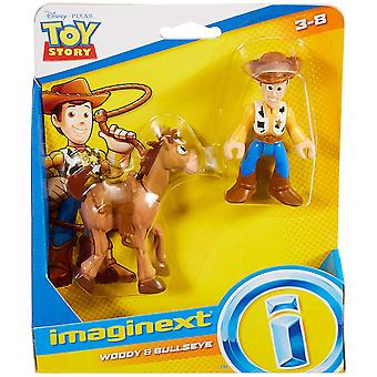 Imaginext Toy Story twin pack - Woody & Bullseye