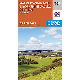 Market Weighton and Yorkshire Wolds Central (September 2015 ed) by Or