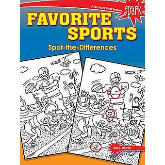 SPARK Favorite Sports Spot-the-Differences by Tony Tallarico - 978048