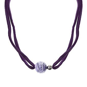 Antica Murrina Cosmology Neptune Fabric Necklace CO758A05