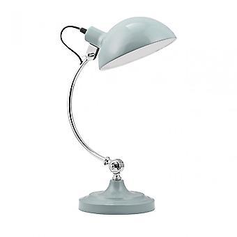 Premier Home Vermont tafel lamp, metaal, blauw