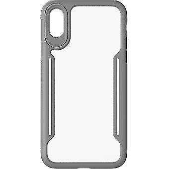 Verizon Slim Guard Clear Grip Case for Apple iPhone XS/X - Gray/White