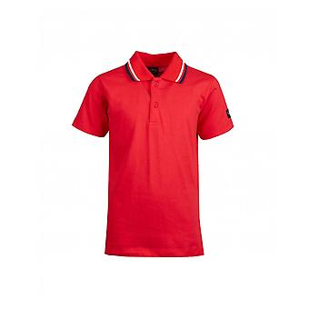 Paul And Shark Junior Tipped Jersey Polo Shirt