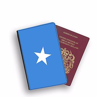 SOMALIA Flag Passport Holder Style Case Cover Protective Wallet Flags design
