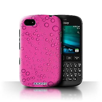 STUFF4 Case/Cover voor Blackberry 9720/roze/Water druppels