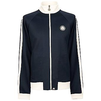 Pretty Green Navy/white Retro Track Top (en)