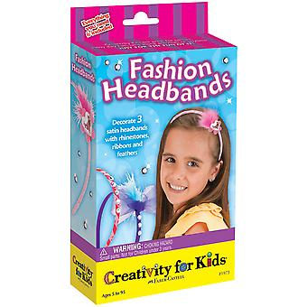 Creativity For Kids Activity Kits Fashion Headbands Makes 10 Ck 1973