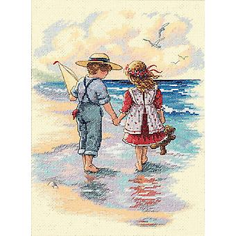 Holding Hands Counted Cross Stitch Kit 9