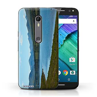 STUFF4 Case/Cover for Motorola Moto X Style/Loch/Valley/Scottish Landscape