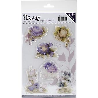 Find It Trading Precious Marieke Clear Stamp-Flowery PMC10011