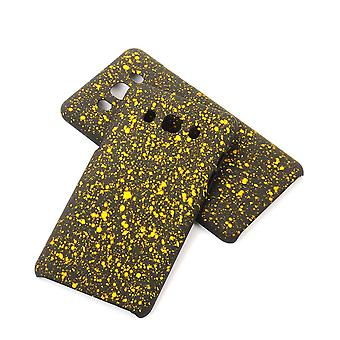 Cell phone cover case bumper shell for Samsung Galaxy J5 2016 3D star yellow