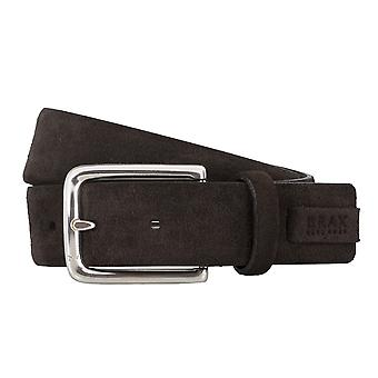 BRAX belts men's belts leather belt suede Brown 4689