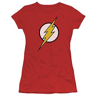 Flash klassiske Logo Womens røde Tshirt