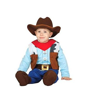 Import Costume Cowboy Baby Child 12-24 M (Costumes)