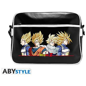 Abysse Dragon Ball Messenger Bag Super Saiyans Vinyl (Toys , School Zone , Backpacks)
