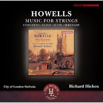 Howells: Musik til strenge af City Of London Sinfo