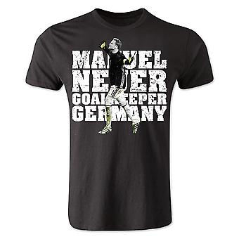 Manuel Neuer Germany Player T-Shirt (Black) - Kids
