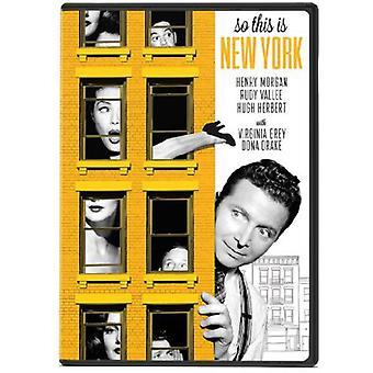 Alors importer des USA ce est New York [DVD]